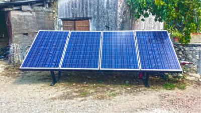 panneau solaire en autoconsommation installé à Saint Savinien en Charente Maritime