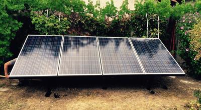 Panneau solaire situé à Périgueux et posé par les techniciens de pose Art Renov