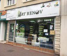 Local de l'agence Art Renov de Châtellerault