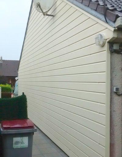 Bardage en PVC d'un maison à Rochefort
