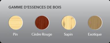 Choix des couleurs de nos volets en Bois