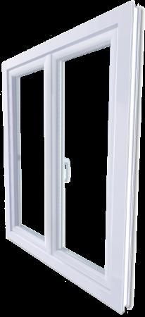 Modèle de fenêtre PVC fourni par l'entreprise Art Renov en Poitou charente, région nouvelle Aquitaine