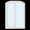 Fenêtre de forme Arc abaissé