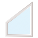 Fenêtre de forme Trapèze