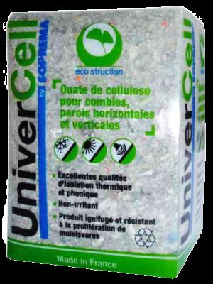 Pack de ouate cellulose de marque Univercell