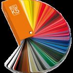 grand choix de couleurs pour les stores