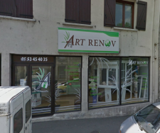 Local de l'agence Art Renov de Périgueux