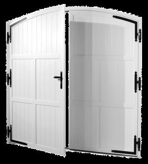 Modèle de porte de garage battante