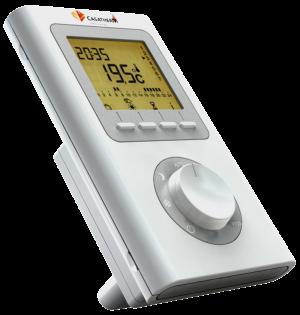 télécommande de radiateur à inertie