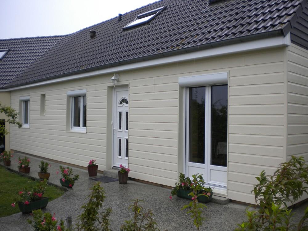 Bardage pvc esth tique de votre maison art renov - Bardage de facade maison ...